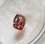 Ceylon Sapphire Cushion 1.5 Cts Collectors Loose Faceted Gemstone Padparadscha