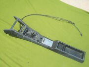 Datsun 240z Floor Console With Choke Cables 1973