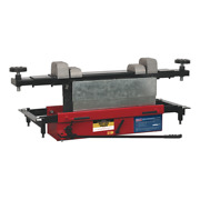 Sealey Jacking Beam 2tonne With Arm Extenders And Flat Roller Supports Garage W...