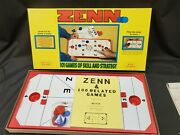 Unused Zenn 101 Games Of Skill And Strategy Benander Games 1977 Mint Condition