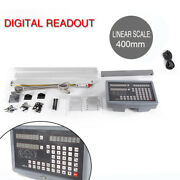 2 Axis Digital Readout For Mill Lathe Scale Updated Dro 400mm Supplies Tools