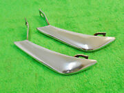 1964 1965 1966 Mustang Fastback Coupe Convertible Shelby Orig Rear Bumper Guards