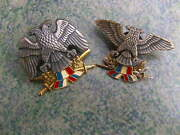 Serbia Montenegro Yugoslavia Army Air Force And Land Army Soldier Hat Beret Badges