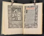 Fine Press / Art And Craft Of Printing Note By William Morris On His Limited 1st