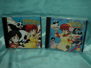 Ranma 1/2 Tv Ost 1 And 2 Cd Soundtracks Us Release Lot Of 2 Cds New/sealed