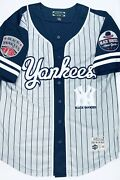 Stall And Dean First On Field Negro League New York Black Yankees Jersey Menand039s Med