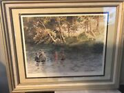 Sandy Lynam Clough Signed Numbered 11x14 Print 23 /1,000 A New Life Frame 21x17