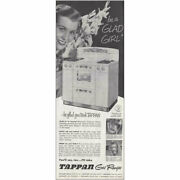 1951 Tappan Gas Ranges Be A Glad Girl Vintage Print Ad