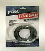 Peak Pkc0rd 25-foot Extension Cord Backup Camera Accessory - Lot Of 2