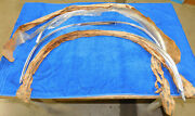 1971 1972 1973 Ford Mustang Nos Lh + Rh Front And Rear Wheel Opening Mouldings Set
