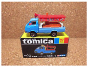 Tomica 27 Toyota Hiace Diecast Scale 1/68 Ishiyakiimo Mini Car With Box