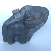 Rare Anton Reiche Circus Elehant With Hat Chocolate Mould/mold Germany C1930