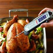 Maverick Pro-temp Commercial Grade Food Probe Bbq Thermometer With Belt Clip