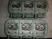 Corvair 140 Hp Fully Rebuilt Heads With Crown 3 Barrel Intakes New Springs