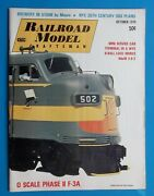 1970 Railroad Model Craftsman Magazine Trains Toys 0 Scale Phase Ii F-3a Brewery
