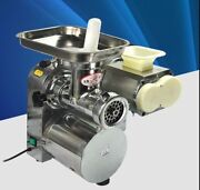 Commercial Stainless Steel Meat Slicer Mincer Grinder Meat Cutting Machine B