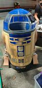 Star Wars Large Size R2d2 Pepsi Coolet Store Display Case Collectible 4ft Tall