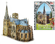 Gothic Cathedral 139 Parts Model Diy 3d Puzzle High Simulation Model Collection
