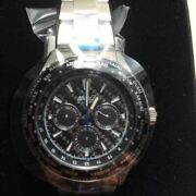 Ana 787 Commemorative World Time Wrist Watch W/ Case Shipped From Japan