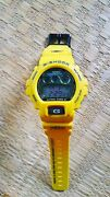 Casio G-shock Spider-man Collaboration Yellow Menand039s Watch Limited Japan Shipped