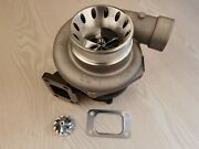 Billet Wheel Turbo Charger Gt3582 T3 A/r .82 Turbine Exhaust 4 Bolt A/r .70 Cold