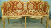 Set Of Corbel Love Seat With Two Arm Chairs