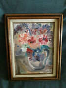 Original Oil On Canvas Painting By Rose Sakel Famous Artist From New Jersey
