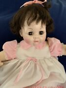 Madame Alexander 1965 Vintage 22andrdquo Pussy Cat Crier Baby Doll W/box
