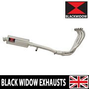 Gsx600f Gsx750f 1988 -1997 Exhaust System 300mm Round Stainless Silencer Sn30r