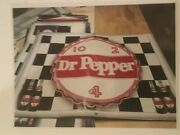 Dr. Pepper Sign 4and039x3and039 Vinyl Banner