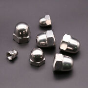 Acorn Cap Dome Nuts - A2 304 Stainless Steel M3 M4 M5 M6 M8 M10 M12