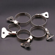 Wing Type Handle Stainless Steel Pipe Clamps Worm Drive/water Pipe/marine Clip