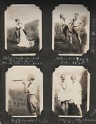 Scouting, Girls / Girl Scout Camp Photo Album 1926-1929