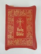 1952 Catholic Home Edition Holy Bible Illustrations By Celebrated Old Masters