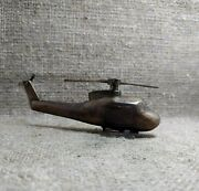 Vintage Petrol Lighter Us Army Helicopter