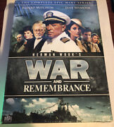 War And Remembrance - The Complete Series Dvd, 2008, 13-disc Set Region 1 New