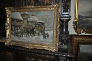 A Fine Antique Painting By Listed American Painter William Crossman Born 1896