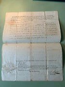 1811 Kentucky Land Deed - Signed By Governor Charles Scott - Rev And Indian Wars
