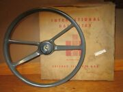 19 Steering Wheel 1960and039s International Harvester Truck Scout Travelall 266249c1