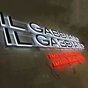 Custom Brand Lighted Signs Exterior Led Channel Letters Advertising Signboards