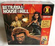Betrayal At House On The Hill Board Game 1st Ed. Mansion Horror 100 Complete