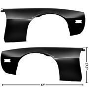 1970 71 72 73 74 75 76 77 78 79 80 81 Firebird Fender Pair Right And Left Side