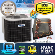 4 Ton 14 Seer Mobile Home Airquest-heil By Carrier Heat Pump A/c And Coil