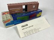 Ho Scale Roundhouse 40' Pennsylvania Rail Road Billboard Box Car All Parts Great