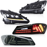 For 2006-2013 Lexus Is250 Sedan Sequential Headlight Led Turn Signal Taillight