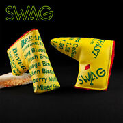 Swag Golf Breakfast Menu Putter Cover New Sealed Ship From Japan