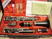 Buffet Crampon C-13 Clarinet W/ Case Limited Edition Shipped From Japan