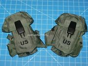 2 Military New Issue Small Arms Ammunition Ammo Case Magazine Lc-1 Pouch W P38