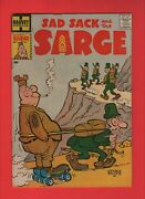Sad Sack And The Sarge 1 - Harvey File Copy 1957 – High Grade - Chip Out