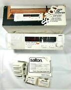 Vintage Salton Over The Counter Cookand039s Timer/audio System Hk 5 - New